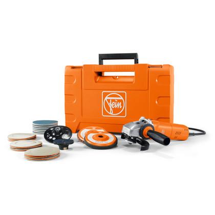 Compact-vinkelslipmaskiner - WSG 17-70 Inox startsats