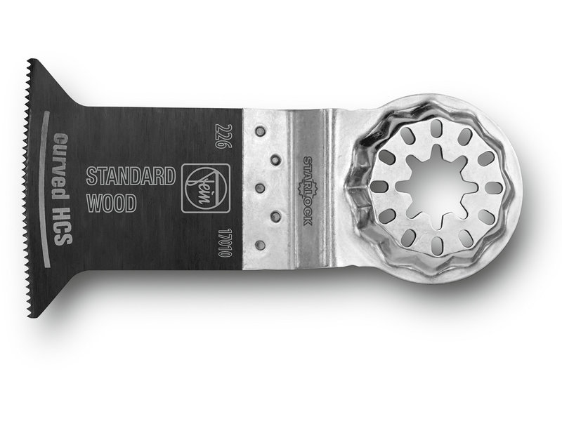 E-Cut Standard saw blade, curved