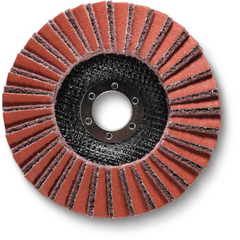 Flap grinding disc medium