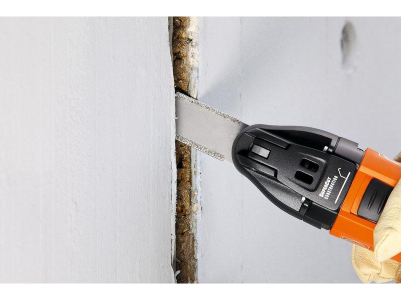 SuperCut Construction - FSC 2.0 Set professionnel FEINRénovation de joints de façade