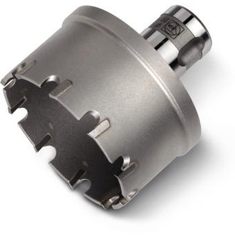 Hardmetalen gatzaag voor buizen met QuickIN PLUS-houder