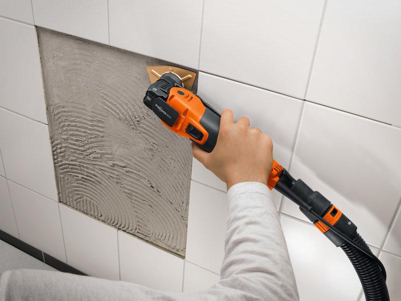 SuperCut Construction - Set profesional FEIN pentru recondiţionarea faianţei/gresiei/băii