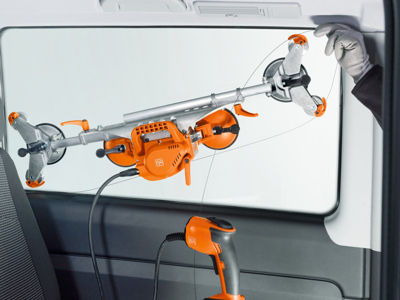Montaż szyb samochodowych - SuperWire (bez akumulatora i ładowarki)