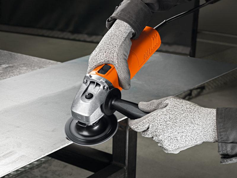 Компактные угловые шлифовальные машины - WSG 8-125