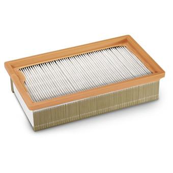Flat-fold filter
