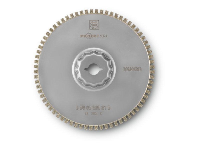 Disc diamantat drept