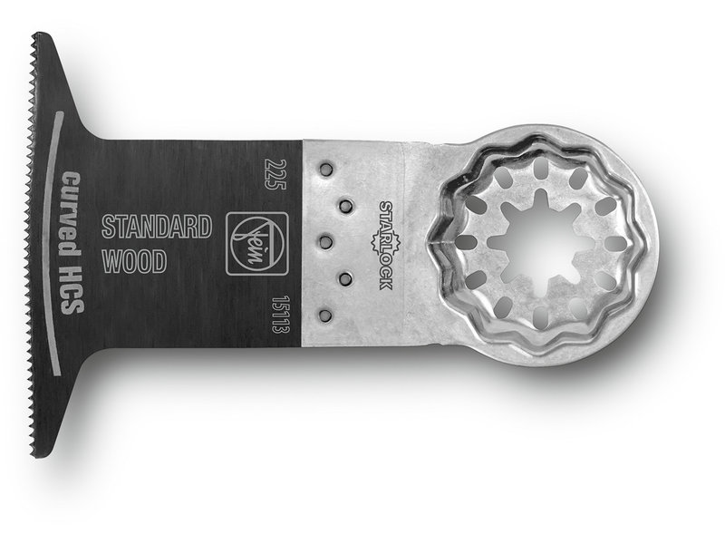 E-Cut standard saw blade curved
