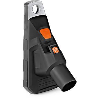 Drilling dust nozzle