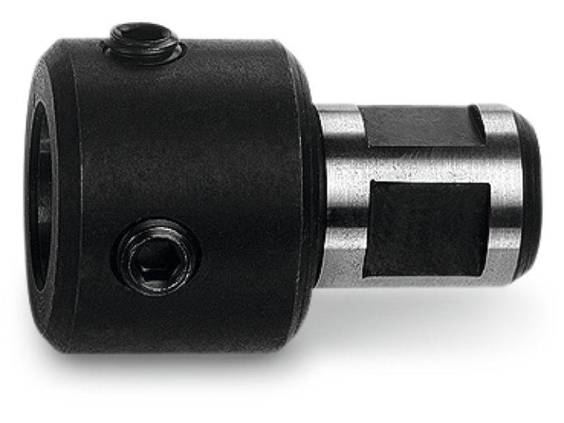 Adapter met 3/4 in Weldon-houder