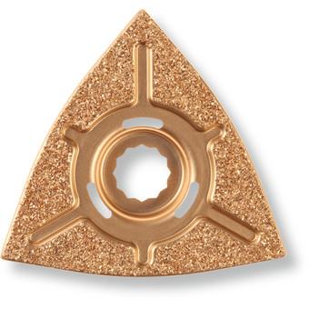 Râpe à concrétion carbure triangulaire