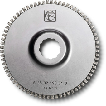 Pânză de ferăstrău segmentată diamantată, cu dantură deschisă