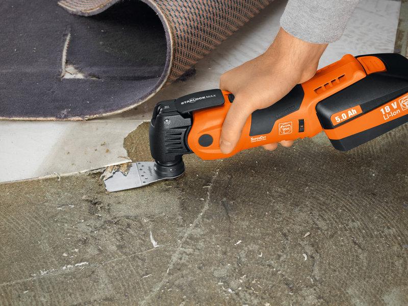 SuperCut Construction - Профессиональный комплект FEIN для санации плитки и ванных комнат