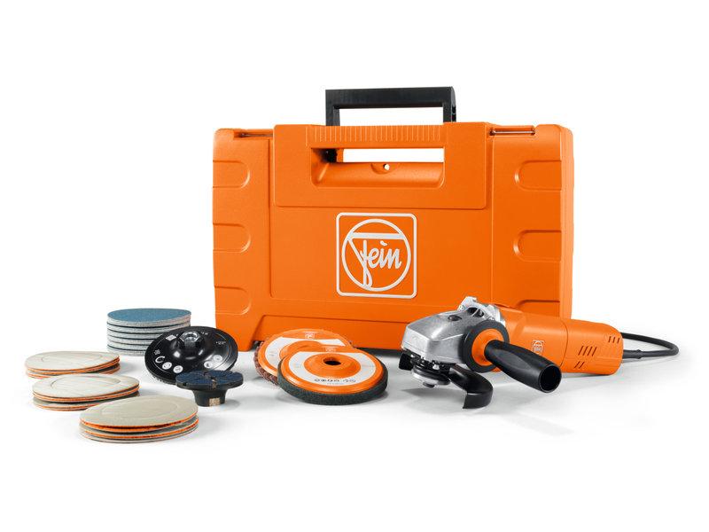 Esmerilhadeiras compactas - Kit de iniciação WSG 17-70 Inox