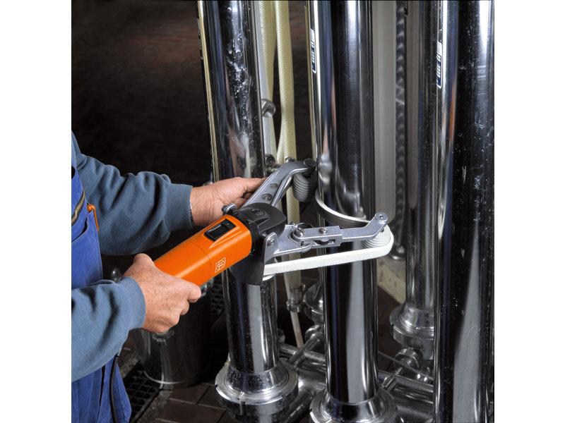 Lijadora - RS 12-70 E – Set profesional para acero inoxidable