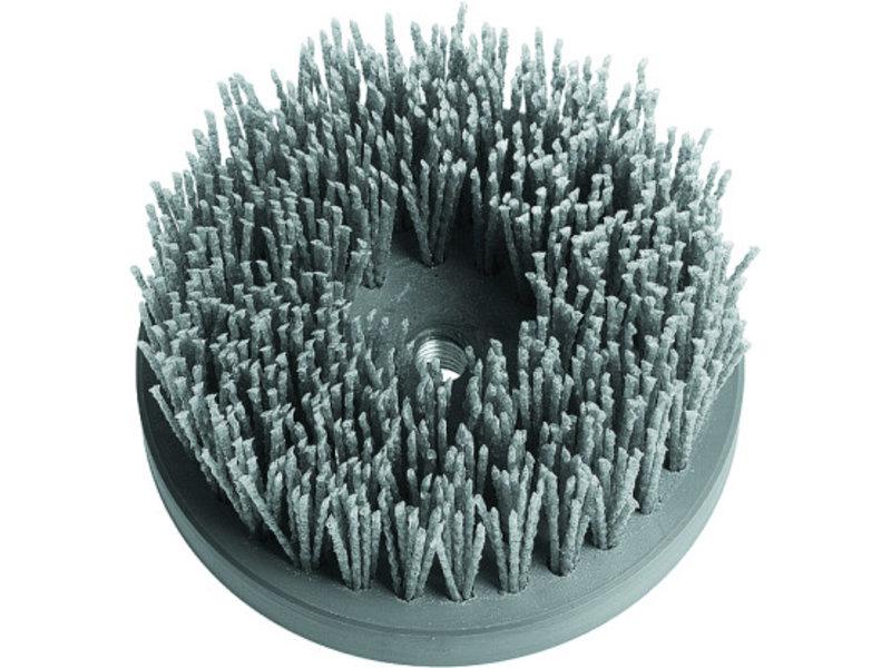 Nylon barrel brush