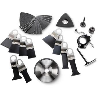 Set di accessori per lavori di falegnameria/allestimento d'interni