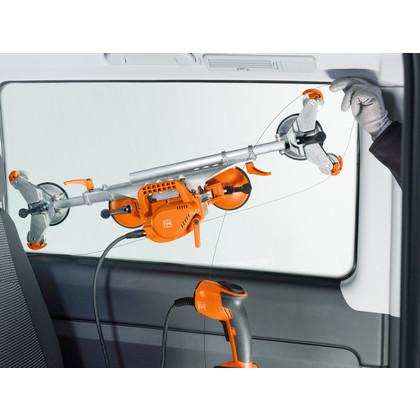Rimozione vetri di veicoli - SuperWire (senza batteria e caricabatteria)