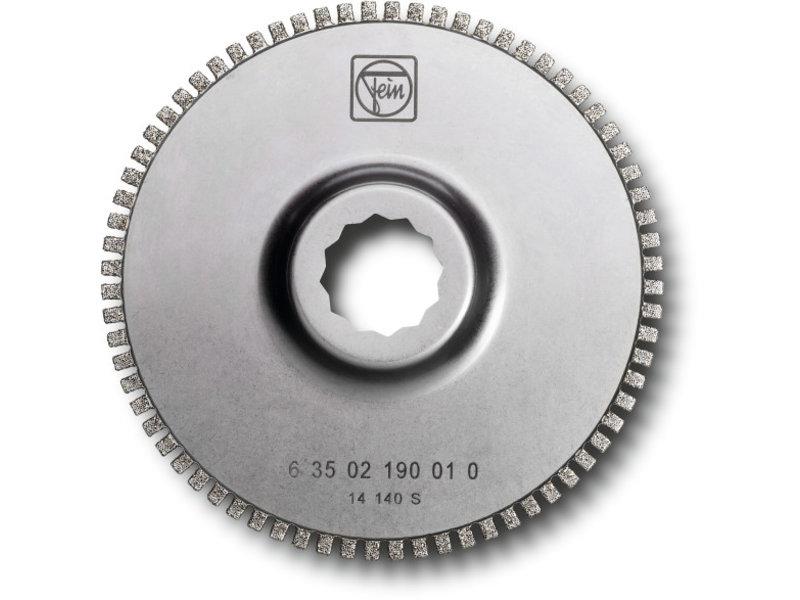Lama da taglio segmentata diamantata con dentatura aperta