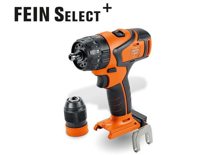 Batteri-bormaskin + skrutrekker - ASB 18 QC Select