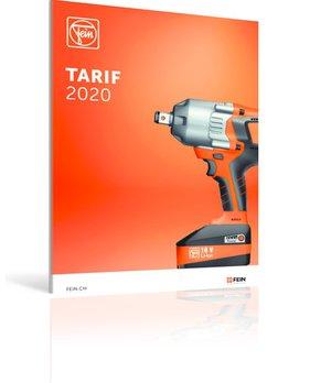 Tarif machines et accessoires 2019