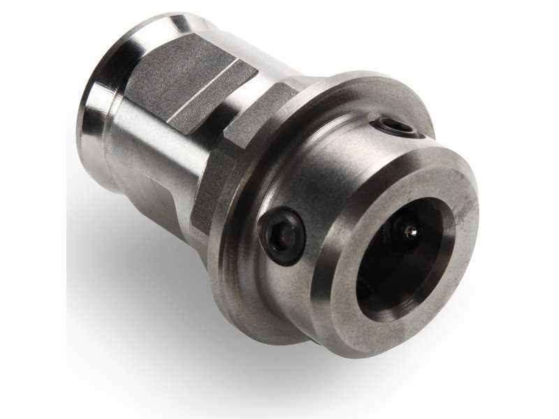 Adapter with QuickIN MAX shank
