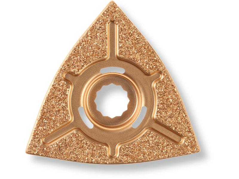 Carbide rasp, triangular