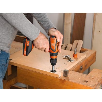 Batteri-bormaskin + skrutrekker - ASCM 18 QSW Select