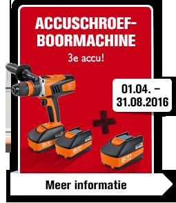 Accuschroefboormachine