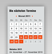 Trade fair dates