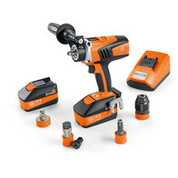 Cordless drill/driver - Professional set for ASCM 18 QM tapping