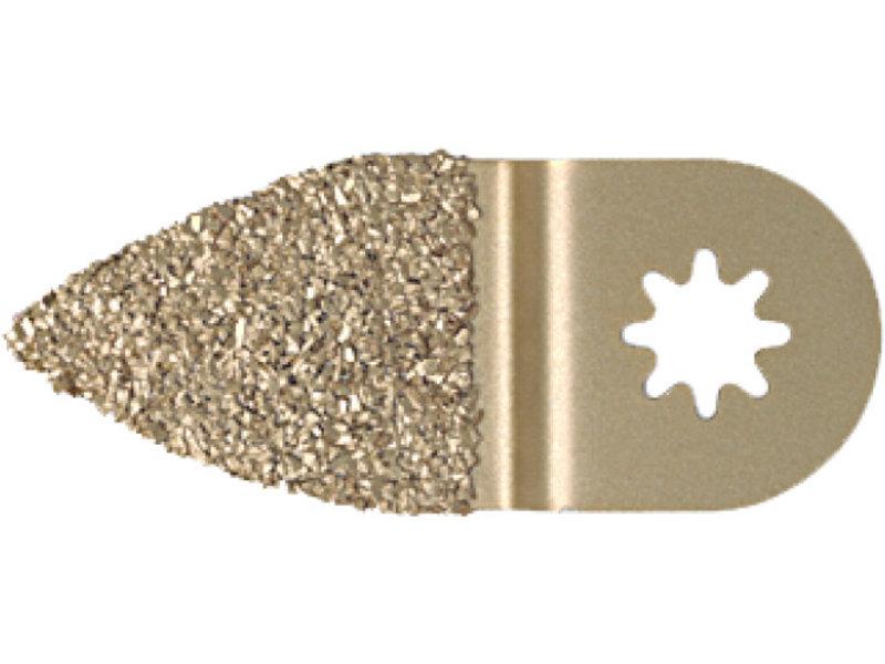Rascador de metal duro, forma de dedo