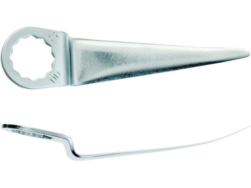 Straight cutting blade
