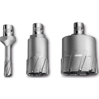 Carbide Ultra annular cutter with QuickIN shank