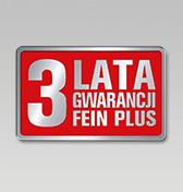 3-letnia gwarancja FEIN PLUS