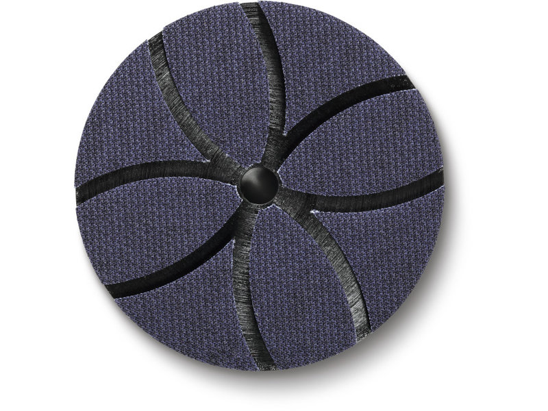 Ventilated backing pad