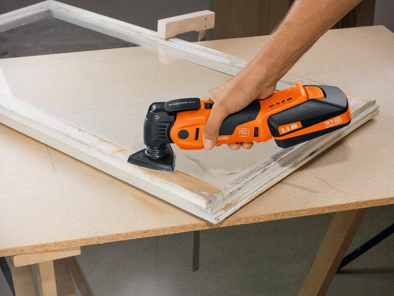 SuperCut Construction - Set profesional FEIN para la reparación/cambio de ventanas