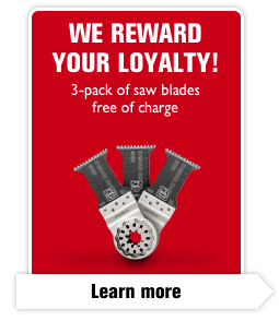 We reward your loyalty!