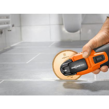 SuperCut Construction - Set profesional FEIN para el saneamiento de baldosas/baños