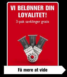 Vi belønner din loyalitet!