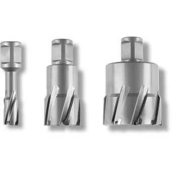 Carbide Ultra annular cutter with Weldon shank