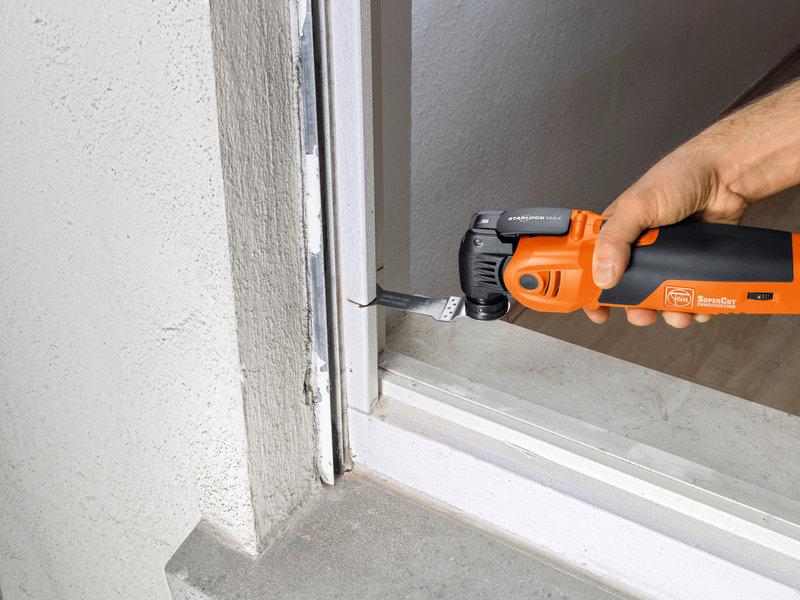 SuperCut Construction - FEIN:s proffssats för fönsterrenovering/-byte