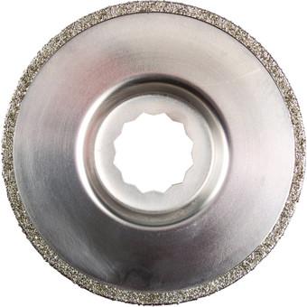 Diamond-coated saw blade