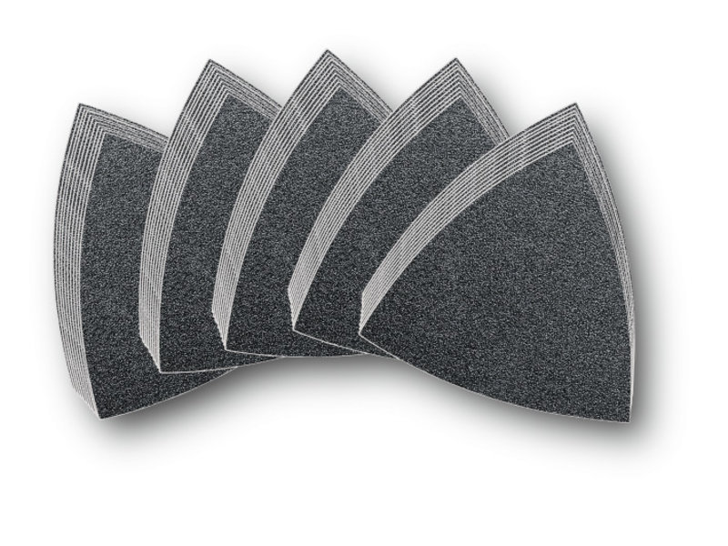 Set of sanding sheets