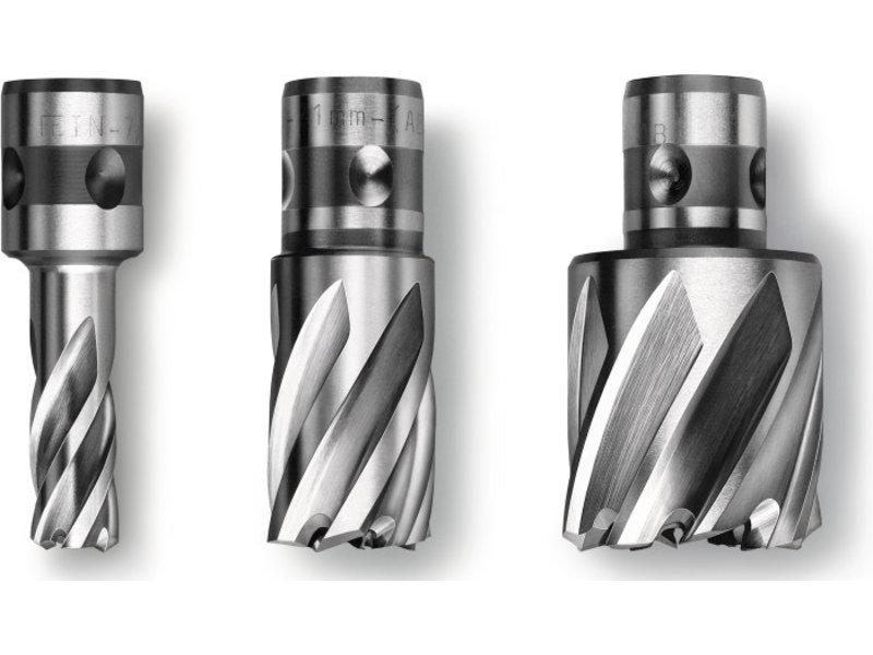 """Coronas perforadoras Prima 1"""" de acero de corte ultrarrápido (HSS) con alojamiento QuickIN"""