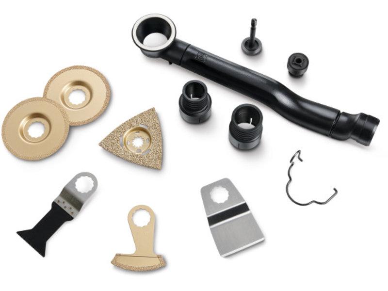 Set de accesorios para suelos