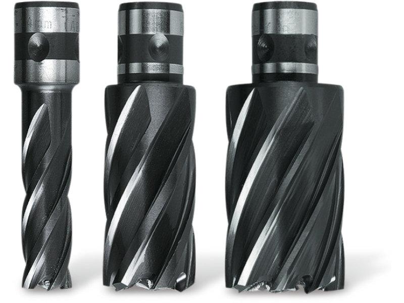 Coronas perforadoras Dura de acero de corte ultrarrápido (HSS) con alojamiento QuickIN