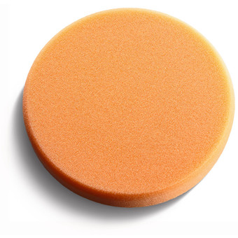 Esponja de pulir naranja