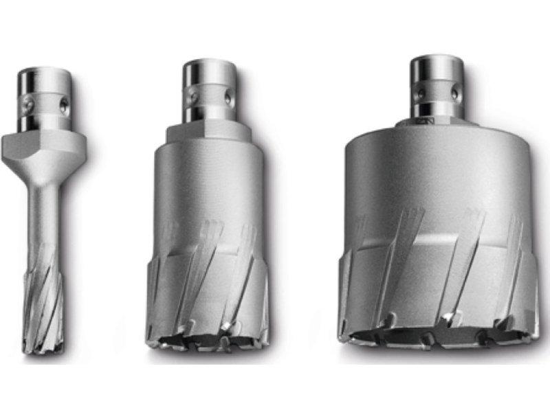 """Coronas perforadoras Ultra 2"""" de metal duro con alojamiento QuickIN MAX"""
