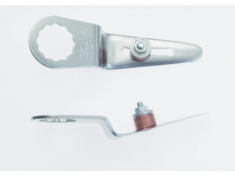 Schneidmesser gerade Form