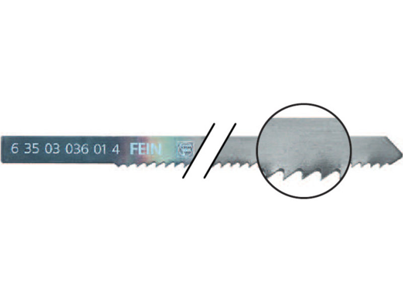 Saw blades for metal and sandwich material